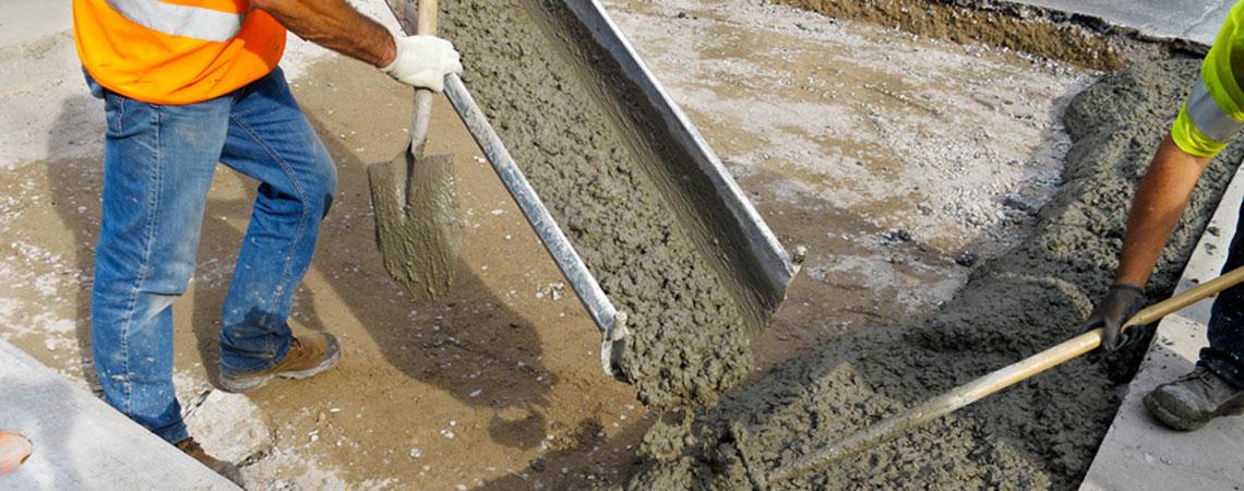 цена укладки бетона за куб