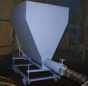 Шнековая система подачи топлива в котлы
