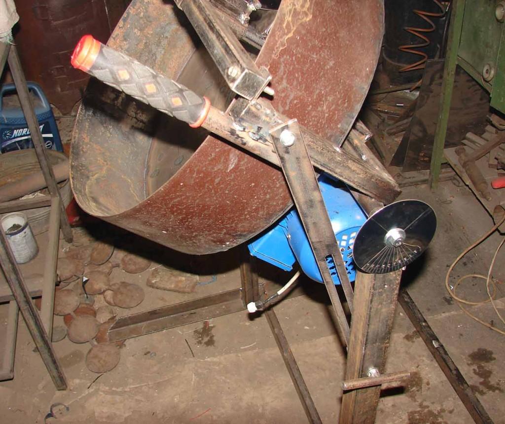 окатывание смеси гранулятором