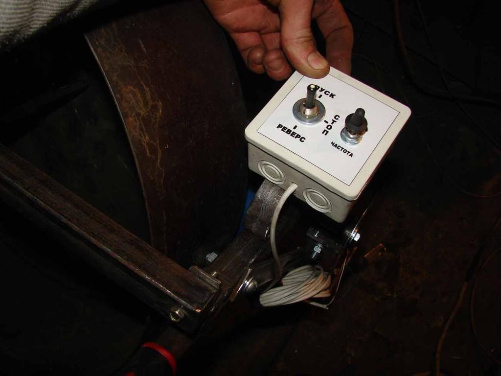 регулятор на тарельчатый гранулятор