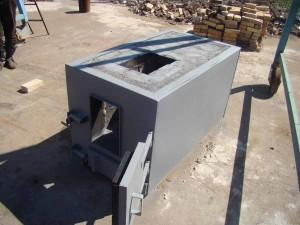 Твердотопливная горелка ТТГ-150