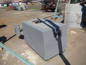Твердотопливная пеллетная горелка ТТГ-150