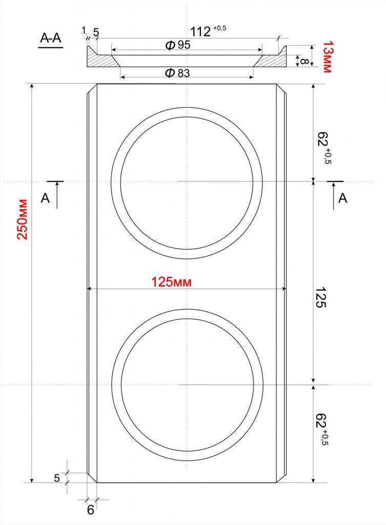 Чертежи матрицы для лего кирпича