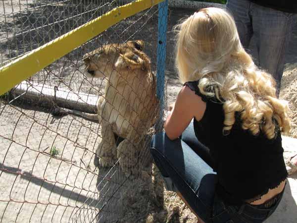 Зоопарк Озера Александрия Кременчуг